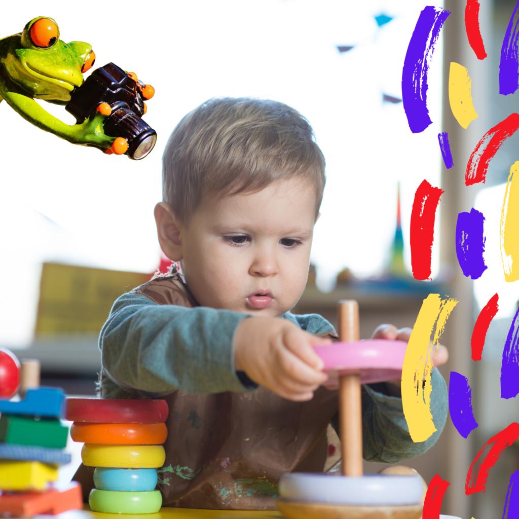 Juguetes educativos Montessori y Arcoíris Waldorf en Colores del Arcoíris. Juegos para niños y niñas bebés en Colores del Arcoíris. Juguetes de bloques de madera