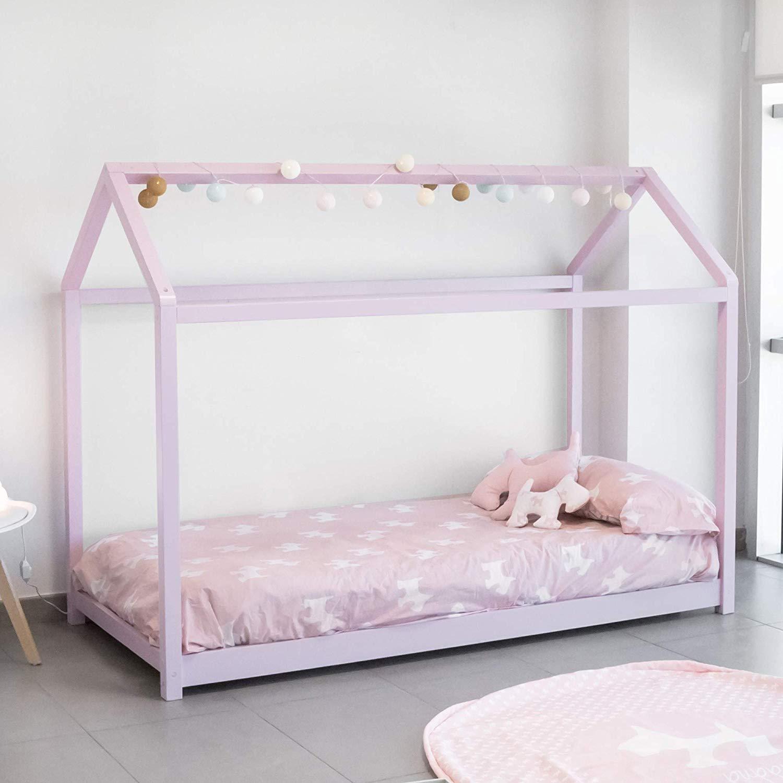 Cama Montessori, Rosa, 190X90 cm