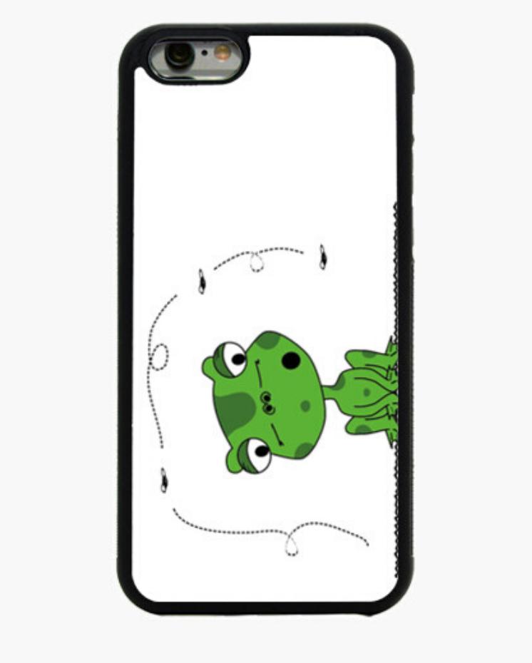 Funda Móbil Iphone Padre Guisante la Tostadora en Colores del Arcoíris. Funda colección Frog and The Fly