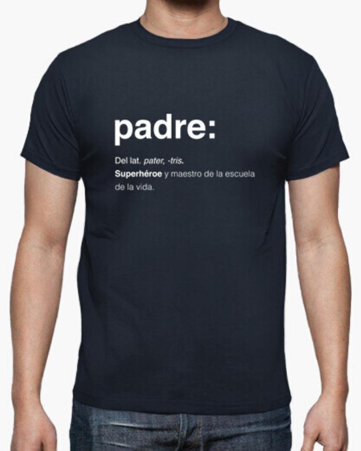 Camisetas el Padre Guisante la Tostadora Colores del Arcoíris. Camiseta Clásica Hombre. Camiseta Negra. Camiseta colección Padre