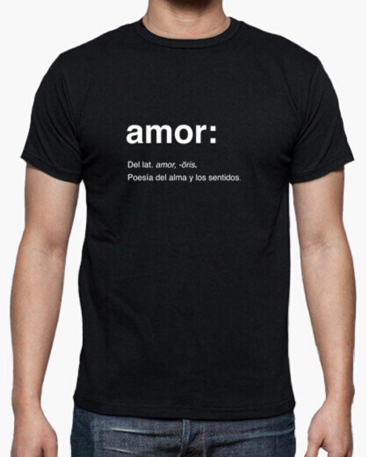 Camiseta el Padre Guisante la Tostadora Colores del Arcoíris. Camiseta Clásica Hombre. Camiseta Hombre Negra. Camiseta Colección Amor