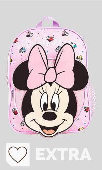 Mejores Mochilas Disney en Amazon en Colores del Arcoíris. Disney Mochilas Escolares, Material Escolar para Niñas, Mochila Infantil con Minnie Mouse en Diseño 3D, Mochila Rosa de Gran Capacidad, Regalos Originales para Niñas