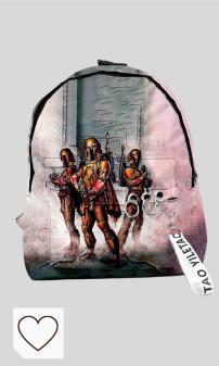 Mejores Mochilas Escolares The Mandalorian en Amazon en Colores del Arcoíris. Backpack Escuela 3D Kids Junior Mochila para La Bolsa De Star Wars Mandalorian Mochila Adecuado para Niños De 8-14 C