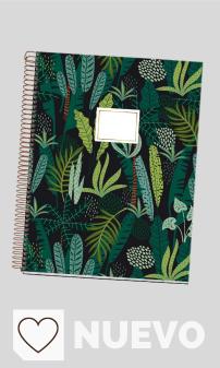 Mejores Cuadernos y libretas escolares en Amazon y en Colores del Arcoíris. MIQUELRIUS 48237 - Cuaderno Espiral A4, tapa dura, 120 Hojas Horizontal Interior 4 Colores Selva