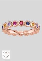 Mejores anillos mujer en Colores del Arcoíris. Thomas Sabo - Anillo de Mujer, Plata de Ley 925, Talla 48