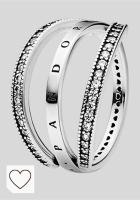 Mejores anillos Pandora Mujer en Colores del Arcoíris. Pandora Anillo para mujer 925 plata 197404 CZ