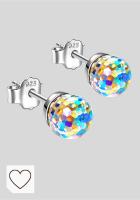 Mejores pendientes en Amazon de Colores del Arcoíris. Alex Perry Regalo para Ella, Serie Mundo Fantastico, Pendientes Mujer, Plata de Ley 925, Aurora Boreal/Azul/Rosa/Policromático/Plata, Cristal de Swarovski
