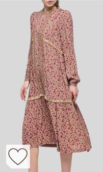 Avance de temporada tendencias moda otoño invierno 2020 en Amazon Fashion y en Colores del Arcoíris. Mejores vestidos Replay para mujer. REPLAY Vestido para Mujer