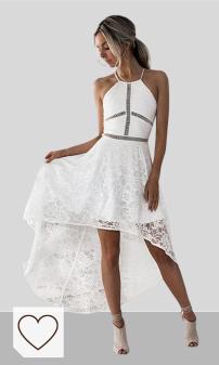 Mejores vestidos mujer temporada verano 2020 de color blanco en Colores del Arcoíris. Vestidos MujerVestidos Cortos Mujer Verano Vestido de cóctel Vestido de Bola de Boda de Dama de Honor Vestido de Fiesta de graduación sin Mangas