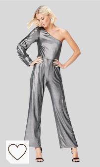 Mejores Vestidos de Fiesta Amazon Moda Mujer selección moda otoño invierno 2020. Marca Amazon - find. Mono Asimétrico para Mujer