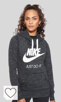 Mejores Sudaderas Nike Mujer Amazon Moda en Colores del Arcoíris. NIKE NSW VNTG Hbr - Sudadera con Capucha Mujer