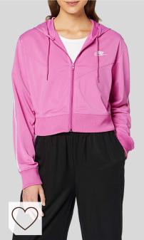 Mejores Sudaderas Nike Mujer en Colores del Arcoíris Amazon Moda. NIKE W NSW Hrtg Hoodie FZ PK - Sudadera Mujer