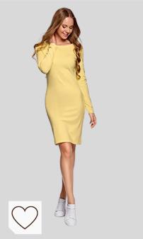 Comprar vestidos mujer en Amazon Moda. oodji Ultra Mujer Vestido de Punto Ajustado