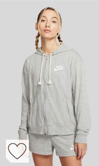 Mejores Sudaderas Nike Amazon Moda Mujer en Colores del Arcoíris. NIKE W NSW Gym VNTG Hoodie FZ - Sudadera Mujer