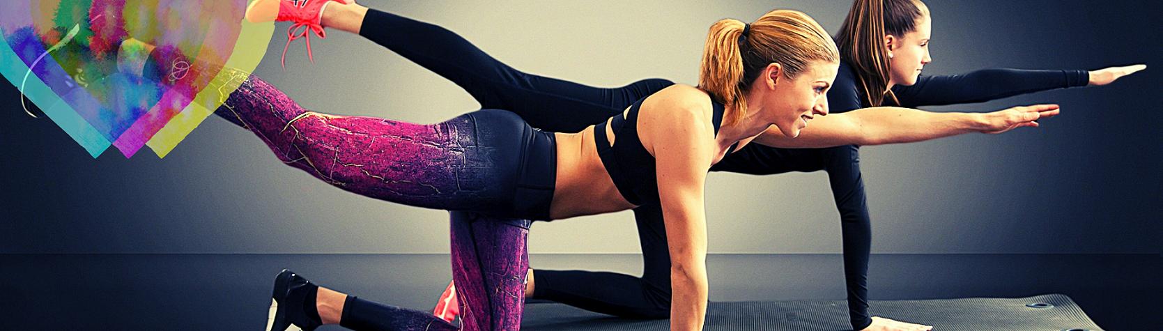 Mallas Deporte para Mujer Amazon Fitness. Leggins Deportivos Mujer en Colores del Arcoíris.