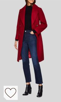 Tendencias Moda Mujer Otoño Invierno 2020 en Moda Amazon selección Colores del Arcoíris. Pepe Jeans Abrigo para Mujer