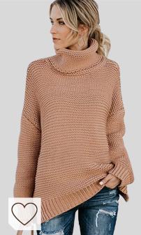 Jerseys de Punto Mujer Amazon Moda Mujer en Colores del Arcoíris. Jerseys de Punto Mujer Jersey Punto Cuello Vuelto Mujer Oversize Grueso Sueter Señora Gordos Ancho Sweaters Sweater Tejido Jerséis de Mujer Suéter Jerséy Pullover Sueteres Tejidos Invierno