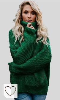 Jersey de Punto Otoño Invierno Mujer Amazon Moda Mujer. Jerseys de Punto Mujer Jersey Punto Cuello Vuelto Mujer Oversize Grueso Sueter Señora Gordos Ancho Sweaters Sweater Tejido Jerséis de Mujer Suéter Jerséy Pullover Sueteres Tejidos Invierno