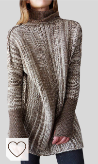 Jersey Punto Otoño Invierno Mujer Moda Mujer Amazon. Jersey Largo Mujer Oversize Jerseys de Punto Cuello Vuelto Mujer Largos Grueso Sueter Vestido Jersey Señora Gordos Ancho Invierno Sweaters Sweater Tejido Jerséis Mujer Suéter Jerséy Sueteres Tejidos