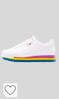 Zapatillas Puma Mujer Amazon Deporte Mujer en Colores del Arcoíris. PUMA Roma Amor Rainbow zapatillas de deporte, para mujer