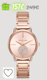 Mejores regalos Navidad Amazon Mujer en Colores del Arcoíris. Michael Kors Reloj Analogico para Mujer de Cuarzo