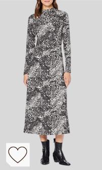 Vestido Animal Print Mujer Amazon Moda Mujer en Colores del Arcoíris. Amazon Fashion. New Look Chris Animal Hnk Stch Midi Vestido para Mujer