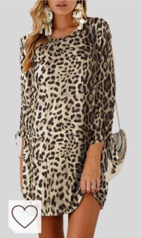 Vestido Animal Print Mujer Amazon Moda Mujer en Colores del Arcoíris. Amazon Fashion. YOINS Vestidos Mujer Casual Vestido Largos de Fiesta Manga Corta Verano Vestidos Camiseta con Cuello Redondo con Mangas de Kowknot