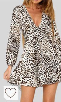 Vestido Animal Print Mujer Amazon Moda Mujer en Colores del Arcoíris. Amazon Fashion. ZODOF Mini Vestido Ropa de Mujer Sexy Hoja de Loto Ocio Vestido de Noche de Manga Larga Color sólido Mujeres Volantes de Verano Floral Dot Imprimir V Cuello Sexy Mini Vestido Corto Vestido