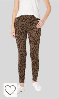 Leggins Animal Print Mujer Amazon Moda Mujer. Amazon Fashion en Colores del Arcoíris. Amazon Essentials Standard Skinny Stretch Knit Jegging - Leggings-Pants Mujer