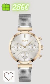 relojes mujer Amazon relojes mujer en colores del arcoíris. Hugo BOSS Reloj Analógico para Mujer de Cuarzo con Correa en Acero Inoxidable 1502551