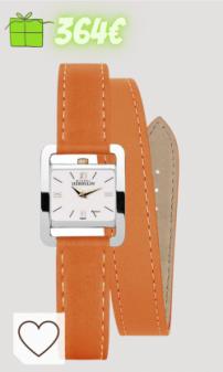 Relojes mujer Amazon reloj mujer en Colores del Arcoíris. Michel Herbelin Reloj Analógico para Mujer de Cuarzo con Correa en Cuero 17037/TR21LOR