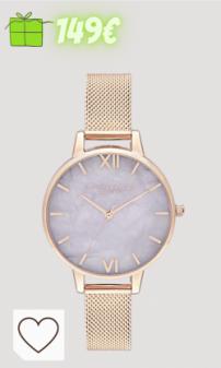 Reloj mujer Amazon relojes mujer Amazon en colores del arcoíris. Olivia Burton Reloj Analógico para Mujer de Cuarzo con Correa en plástico OB16SP16