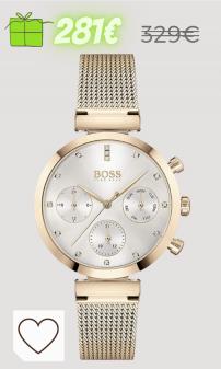 Relojes Mujer Amazon Relojes Mujer. Hugo Boss Reloj Analógico para Mujer de Cuarzo con Correa en Acero Inoxidable 01502553