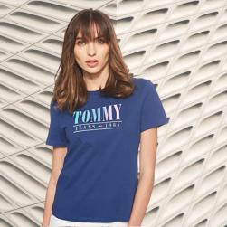 Camisetas Tommy Mujer Amazon Camisetas Tommy Mujer en Colores del Arcoíris