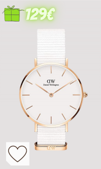 Relojes Mujer Amazon Relojes Mujer en Colores del Arcoíris. Daniel Wellington Petite Dover, Reloj Blanco/Oro Rosado, 32mm, NATO, para Mujer