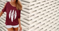 Camisetas Mujer Verano Amazon Camisetas Mujer Verano en Colores del Arcoíris