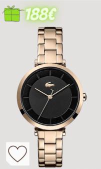 Relojes Mujer Amazon Relojes Mujer en Colores del Arcoíris. Lacoste Reloj Analógico para Mujer de Cuarzo con Correa en Acero Inoxidable 2001142