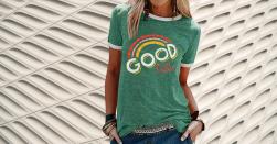 Camisetas Mujer Good Vibes Amazon Camisetas Mujer Good Vibes