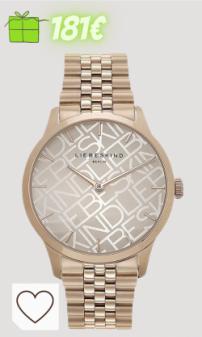 Relojes mujer Amazon relojes mujer en Colores del Arcoíris. Liebeskind Berlin Reloj analógico de Cuarzo para Mujer con Correa de Acero Inoxidable LT-0241-MQ
