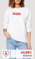 Rebajas Amazon Moda Mujer en Colores del Arcoíris. Levi's Relaxed Graphic Crew Long Sleeve Sudadera para Mujer. Rebajas sudaderas levi's mujer en Amazon