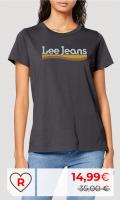 Rebajas Amazon moda mujer. Rebajas camiseta lee Amazon para mujer. Lee Crew Neck tee Camiseta para Mujer