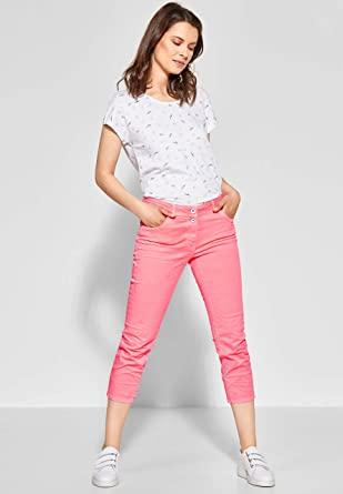 Cecil Vaqueros Slim color rosa para Mujer