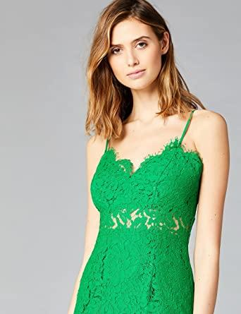 Marca Amazon - TRUTH & FABLE Vestido Midi de Encaje Mujer