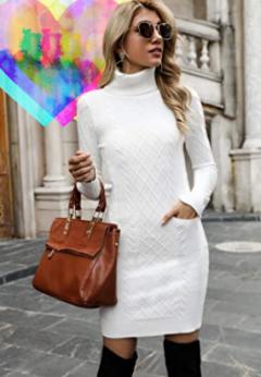Vestidos de punto Mujer. Tendencias de moda mujer vestidos de punto amazon vestidos de punto