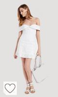 Vestido blanco Guess. Guess Krin Dress Vestido para Mujer
