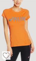 Camiseta Asics Naranja. ASICS Camiseta Manga Corta Pinnacle Naranja S