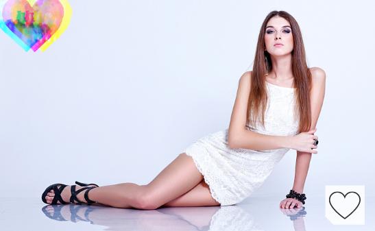Vestido corto mujer de color blanco en Amazon Fashion