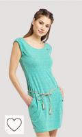 Ragwear - Vestido para mujer, color verde menta