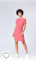 Vestido corto color rosa pastel Marca Amazon - find. Vestido Ajustable para Mujer