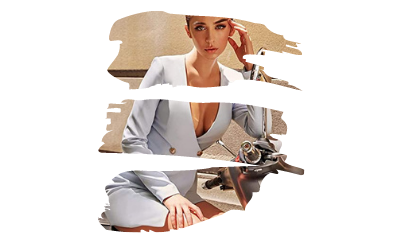 Mujer con traje vestido escote en V. Tendencias Moda Mujer amazon moda Mujer